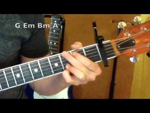 Water Under the Bridge - Guitar Lesson - Adele