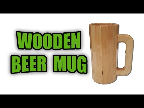 How to Make a Wooden Beer Mug (Easy Gift Idea)