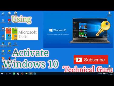 Activate Windows 10 Pro   Home  Enterprise Permanently 100% work 2017  For Free   YouTube 360p