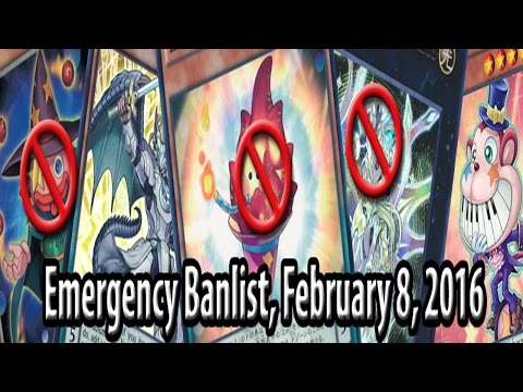 Shots have been fired! They actually pulled the trigger on PePe... - Emergency Banlist (Feb 8, 2016)