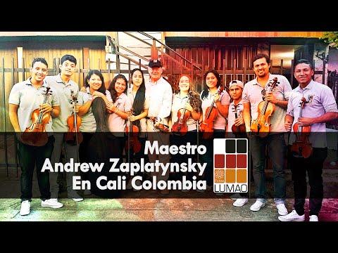 Maestro Andrew Zaplatynsky en Cali Colombia FundaLumao