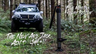 This is the first negative review I've given and from one of the companies I've had the best experiences from. The new ARB Jack is overpriced and under ...
