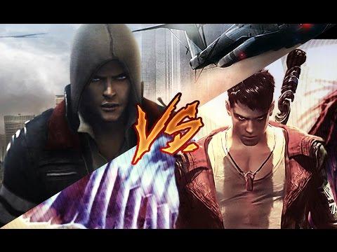 Alex Mercer (Prototype) vs Dante (DmC)