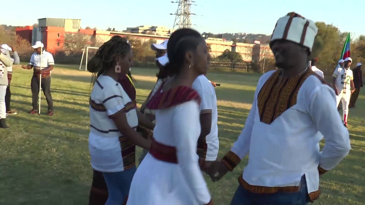 Sidama Traditional Song and Dance on 'Fichche' Celebration SA JHB.