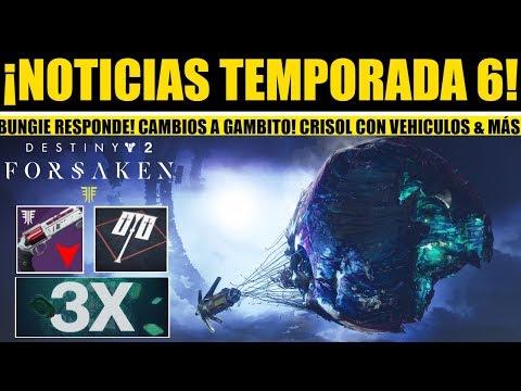 Destiny 2: Cambios a Aullido, Incursiones, Gambito... PVP Con Vehículos! Bonus de Infamia! Critica.. thumbnail