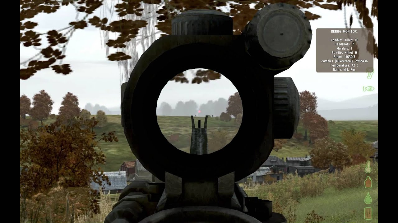 DayZ M4A3 CCO 400 Meter Kill [1080p] - YouTube