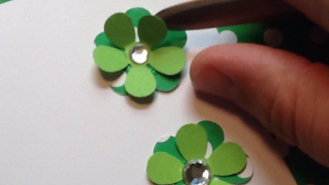 Crea un bel biglietto con fiori in 3d fai da te for Fai da te creazioni
