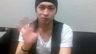 A video from Yuya Matsushita's blog posted on 2009-05-25.