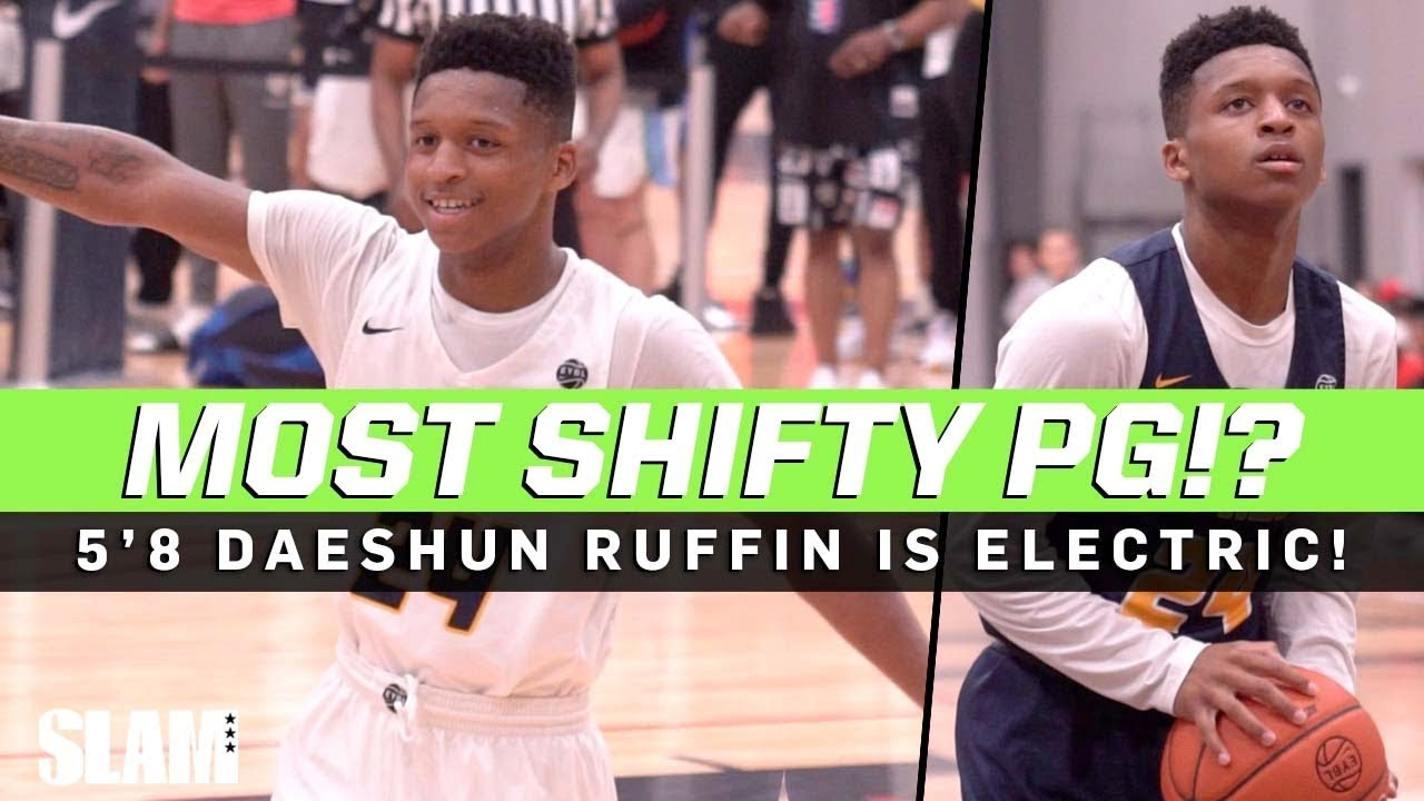 Who does 5'8 Daeshun Ruffin remind you of?! SHIFTY Junior PG 💨