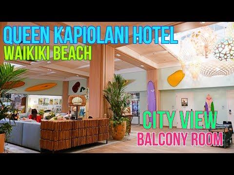 QUEEN KAPIOLANI HOTEL | CITY VIEW BALCONY ROOM | WAIKIKI BEACH