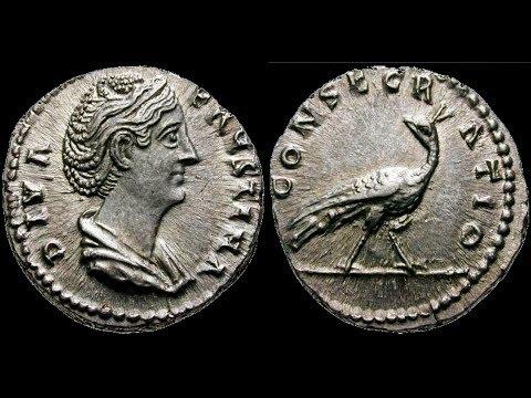 🔝 Денарий, 147 г., Монета, Римская Империя, АНТОНИН ПИЙ, 🌍 Denarius, 147 AD ✅