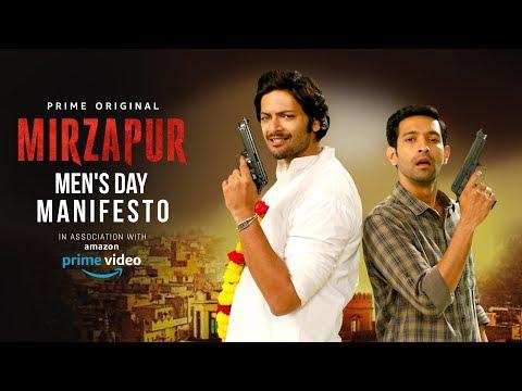 Mirzapur Men's Day Manifesto Ft Ali Fazal and Vikrant Massey | International Men's Day | MensXP