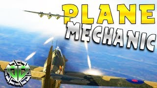 Fighter Plane Mechanic Simulator : 303 Squadron: Battle of Britain Gameplay (PC Demo)