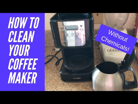 How To Clean Your Coffee Maker...Without Chemicals