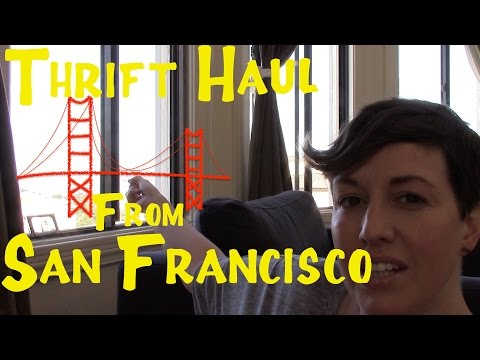 San Francisco Thrift Haul #2 -- Banana Republic, Stella and Dot, and More! I A Thrifty Miss