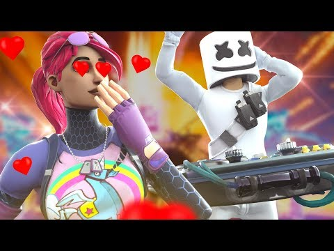 MARSHMELLO FALLS IN LOVE WITH LITTLE KELLY | Fortnite Short Film