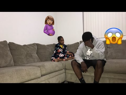 I GOT ANOTHER GIRL PREGNANT PRANK ON GIRLFRIEND!!!