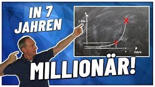 Warum DU in 7 Jahren MILLIONÄR sein kannst | Das größte GEHEIMNIS von Erfolg ist...
