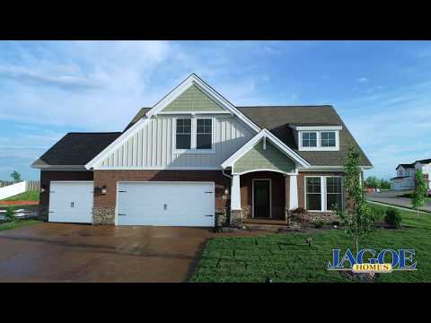 Little Rock Craftsman C2 with 3rd Bay Garage | Turnberry at Berkshire | Newburgh, IN