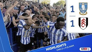 Sheffield Wednesday 1 Fulham 1 | Extended highlights | 2019/20