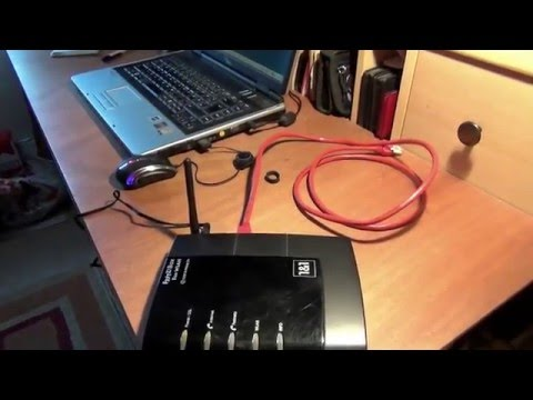 AVM FRITZ!Box Fon WLAN 7170 - 125 Mbps 4-Port 10/100 Wireless,ROUTER