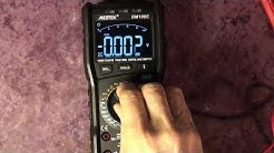 MESTEK DM100C Multimeter Test and Review after 5 weeks of daily use