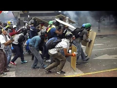 #08May REPRESION BRUTAL | Chacaito, Caracas | Yo Soy Oliver Castillo