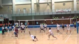 関東ブロック大会で一番盛り上がったプレー FC東京バレーボールチーム