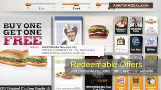Burger King Coupons(Learn guitar chords for FREE through our new game Chord Master: http://bit.ly/ChordMasterYT Ask Burger King for a deal: http://askforadeal.com Ask For a Deal ..., 2011-01-19T23:15:22.000Z)