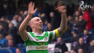 Full time scenes from Ibrox as Celtic celebrate famous victory