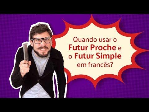 Quando usar o Futur Proche e o Futur Simple em Francês?