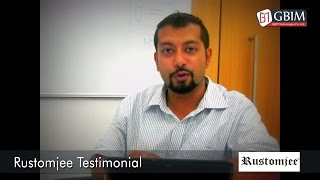 rustomjee testimonial for gbim technologies pvt ltd