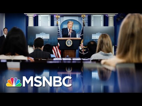 Trump Again Says COVID-19 Will 'Disappear' In First Virus Briefing In Months | The 11th Hour | MSNBC