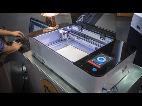First Look at the $5000 Muse Hobby Laser Cutter