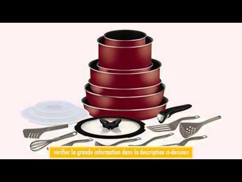 Tefal l0679702 ingenio 5 batterie de cuisine set de 20 - Batterie de cuisine tefal ...