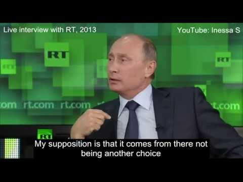 Putin on ideology - difference between Americans and Russians