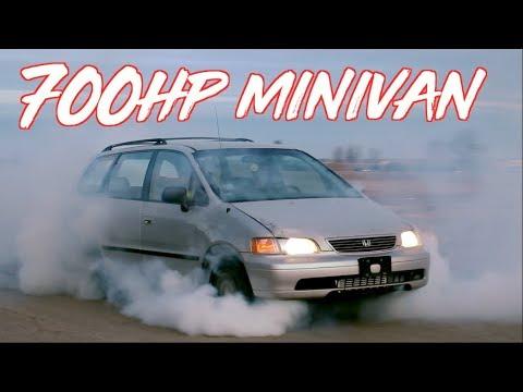 700HP Honda Odyssey Minivan?! BoostedBoiz! - YouTube