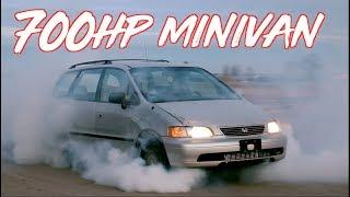 700HP Honda Odyssey Minivan?! BoostedBoiz!