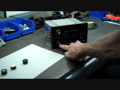 How to Repair Car Stereo Knob Repair Stereo radio CD GM Delco Delphi Chevrolet Gmc Pontiac