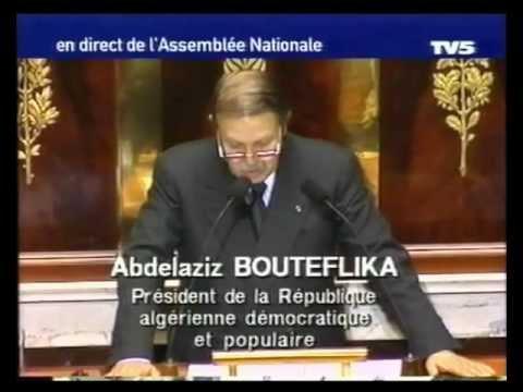 Abdelaziz BOUTEFLIKA discours à l'assemblée Nationale 2000