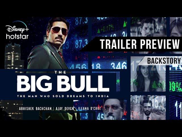 THE BIG BULL - Trailer Preview   Abhishek Bachchan   Ajay Devgn   Ileana D'Cruz   Hotstar - YouTube