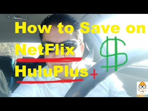 ▶️How to Save on Internet Video Streaming Service, NetFlix Hulu Plus Amazon