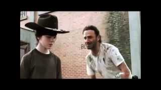 Carl get raped (The Walking Dead)