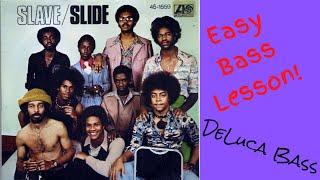Easy Bass Lesson! Slide - Slave