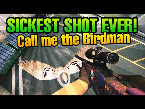 CS:GO SICKEST SHOT EVER by biBa! Call me the Birdman!