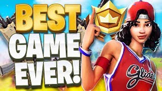 MY BEST GAME EVER!! *EPIC SOLO WIN* (Fortnite Battle Royale)