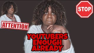 THINGS #YOUTUBERS#MUST# STOP I…