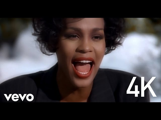 Whitney Houston - I Will Always Love You (Official 4K Video)