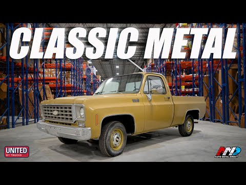 THE KING OF CLASSIC TRUCK METAL | Exclusive Auto Metal Direct Shop Tour