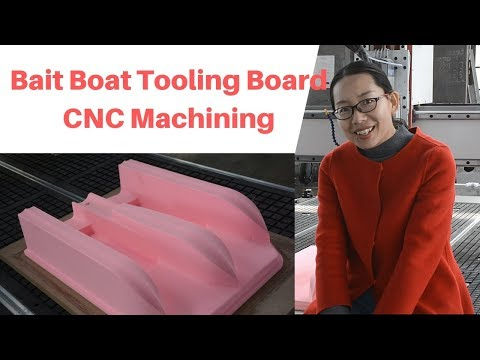 Bait Boat Tooling Board Mould CNC Router Machine China   Omni CNC